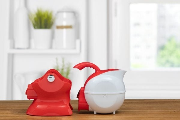 Uccello Kettle – Red & White