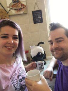 Natasha and Breanainn using their Uccello Kettle